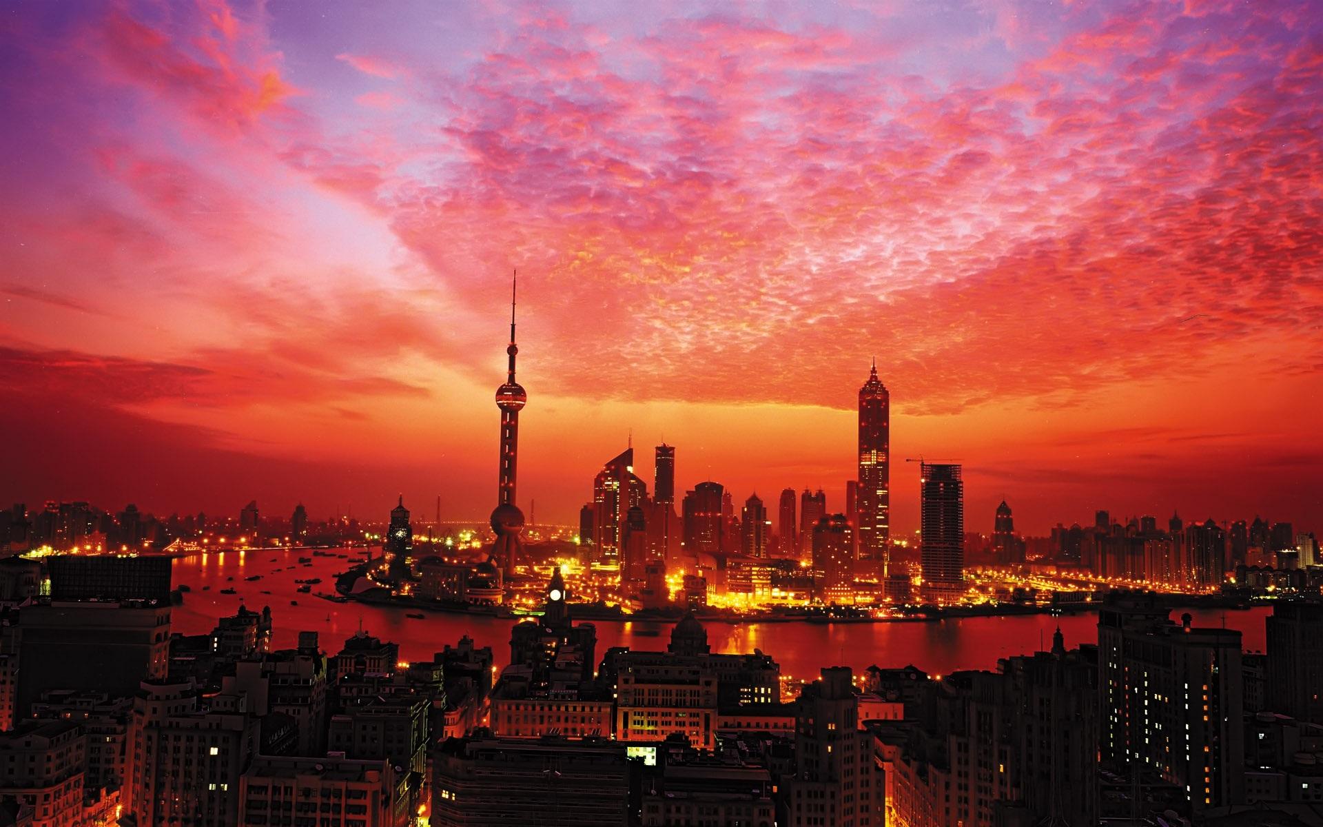 Sunset-in-Shanghai_1920x1200